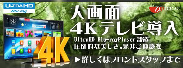 春4Kテレビ